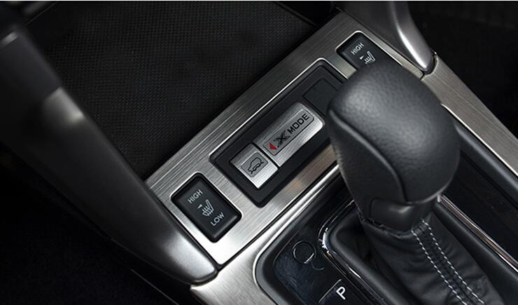 Car <font><b>Seat</b></font> Heating Button Decorative Cover interior Trims For Subaru <font><b>Forester</b></font> 2013 2014