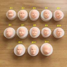 1 шт. 3D Baby Face мягкая глиняная форма инструменты силиконовая форма для торта шоколадные конфеты форма для выпечки инструменты для украшения тортов из мастики