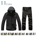 TAD 4.0 Shark Skin soft shell lurkers outdoors tactical gear military jacket+ uniform pants Camouflage hunting suits