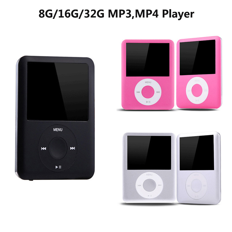8G/16G/32G MP3 Player 1.8 Inches LCD Display Sports Mp3 Music Player Video E-books Recording Mini Mp3 Players
