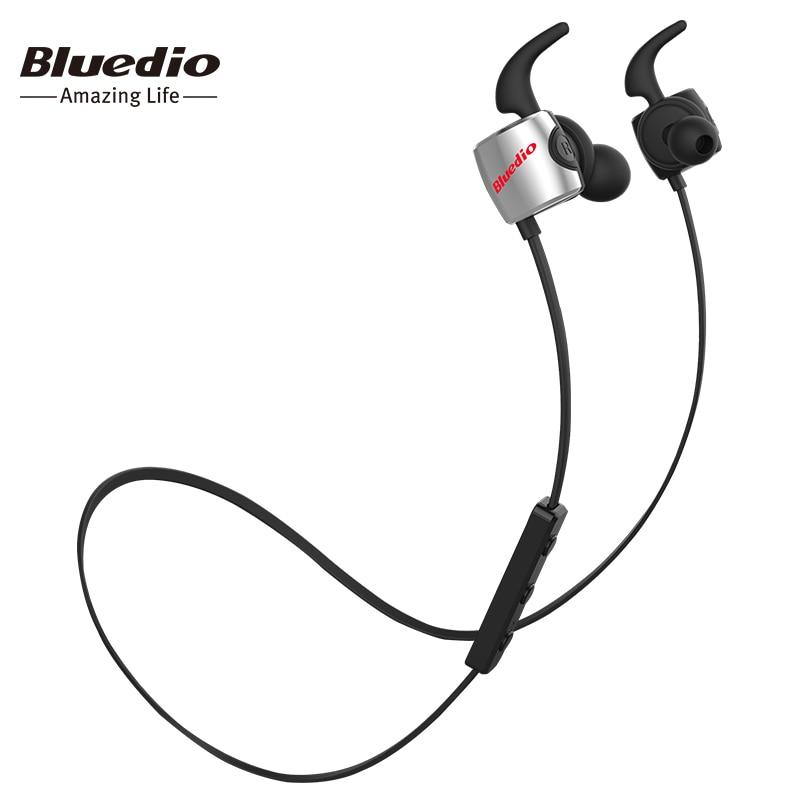 TE Bluedio fone de ouvido bluetooth Esportes/earbud com microfone sem fio fone de ouvido para telefones à prova de suor e música