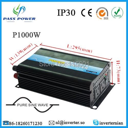 Off-grid dc 12V 24V to ac 220V 240V 1000W power inverter pure sine wave solar power on grid tie mini 300w inverter with mppt funciton dc 10 8 30v input to ac output no extra shipping fee