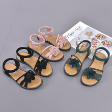 Childrens shoes 2019 Summer new kids Lovely flower Fashion girl sandals baby shoesfor kiad 27-37code
