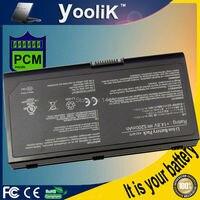 A42 M70 14.8V 5200mAh 8 cell laptop batterij M70 voor Asus M70 M70SA M70VM M70V G71 G71V G71G G71VG g71GX N70SV N90SV X71 X72-in Laptop Batterijen van Computer & Kantoor op