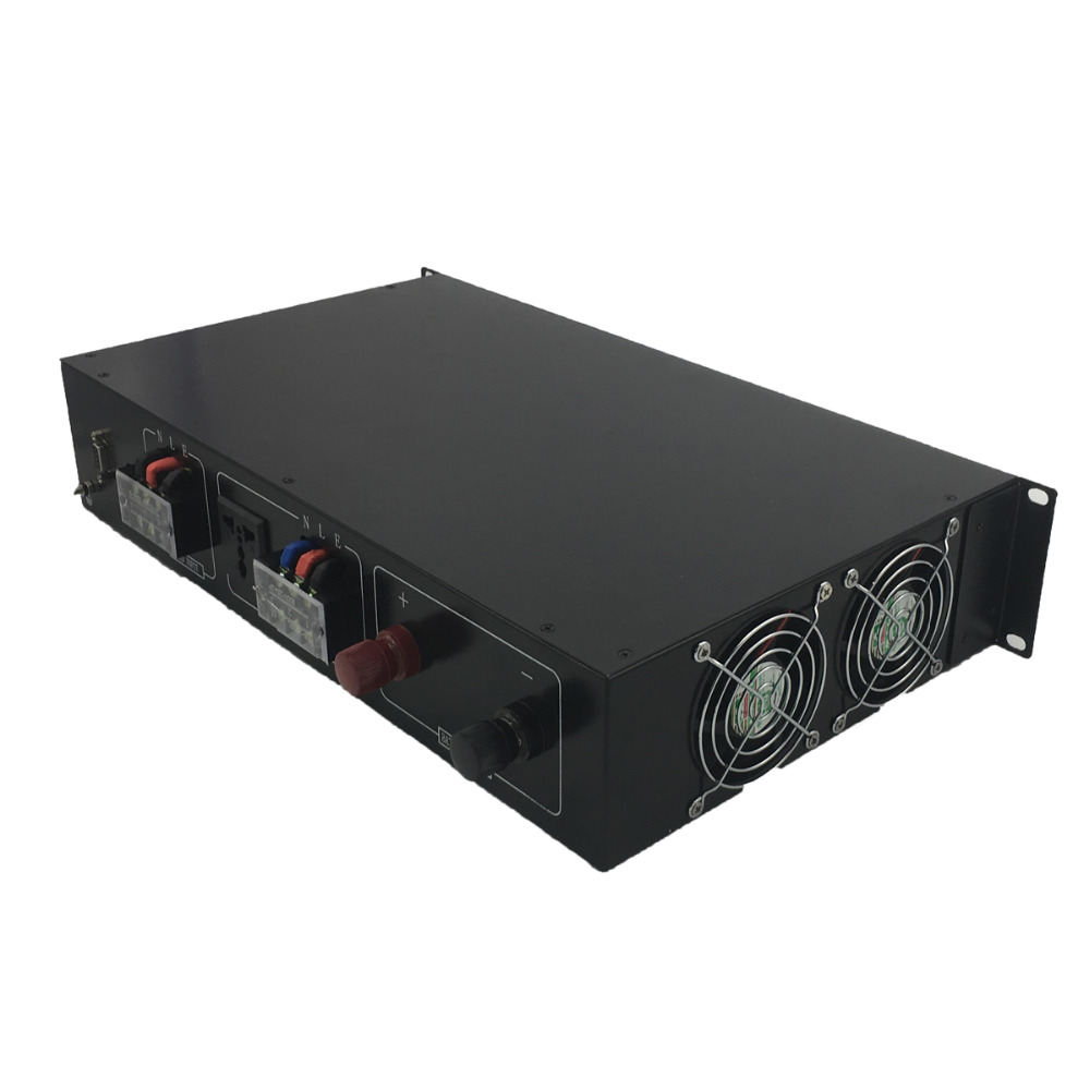 "Image 4 - 19"" Rack Mount Telecom Pure Sine Wave Inverters 3000VA/3KVA 12V/24V/48V to 120V/220V bypass-in Inverters & Converters from Home Improvement"