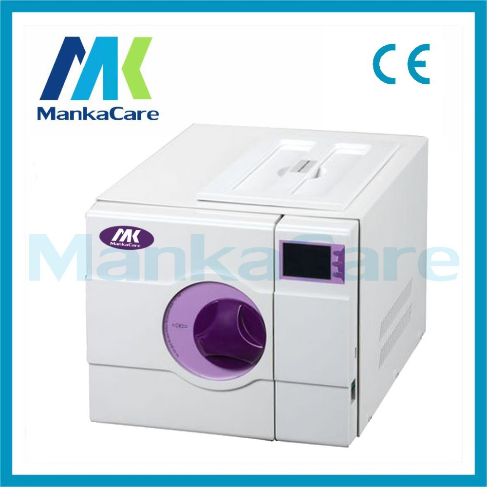 8L Pulse Vacuum Steam Autoclave/Europe B Class Dental Medical Sterilizer Sterilization/disinfection Cabinet
