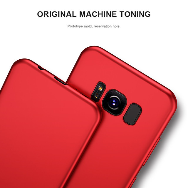 KISSCASE Case For Samsung Galaxy S9 S9 Plus Luxury Ultra Thin Smooth Soft TPU Cover For Samsung S8 S8 plus S6 S7 edge S9 Cases 4