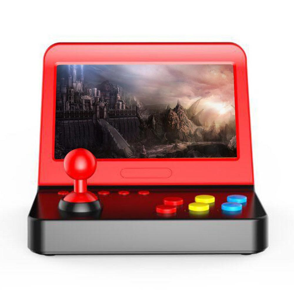 Classical family game console 7 inch 800*480 pixels support 2 players Video Game Console
