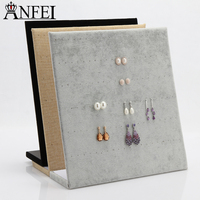 New Big Earring Ring Display Shelf Stand 60Pairs Holes Jewelry Display Storage Trade Show Expositor