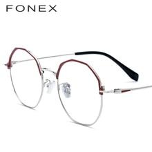 84a9e379b89 Polygon Glasses Frame Women Vintage Myopia Eyeglasses Men 2019 New Designer  Points Ladies Oversize Clear Lens