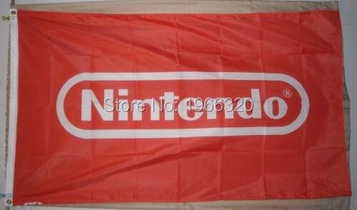Nintendo Banner Flag 3x5 Custom Football Hockey Any Flag Flag 3x5 Banner Flagcustom 3x5 Flag Aliexpress