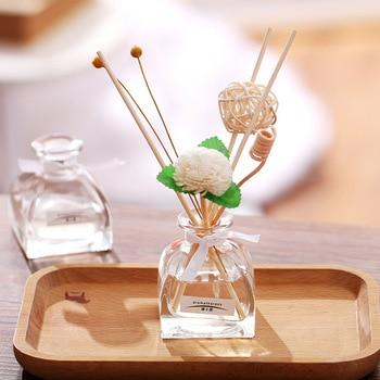 50ml Home Fragrance Oil Rattan Reed Diffuser Room Perfume Aroma Essential Oil Supplement Lavender Jasmine Sakura Rose 1