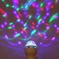 High Quality E27 Colourful RGB Led Stage Light 85V-265V Auto Rotating Lamp Decoration Atmosphere Night light For KTV Bar