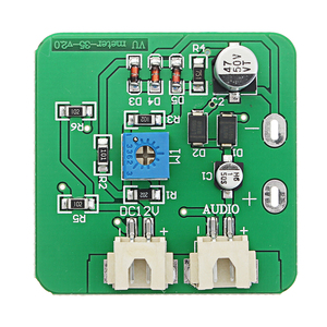 Image 3 - 12v Analog Panel VU Meter Audio Level Indicator Meter for Amplifier Speaker with cable