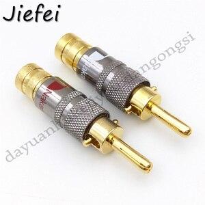 4-50 sztuk nowy wysokiej jakości miedzi Nakamichi kabel głośnikowy wtyk bananowy ze złączem blokady głośnika