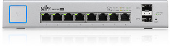Ubiquiti UniFi Switch US-8-150W 802.3af/at Managed PoE+ Gigabit Switch with SFP UBNT Unifi Switch compatible projector lamp smartboard 102099 sb480i6 sb600i6 sb680i6 sb685i6 sbm600i6 slr60wi2 uf70 uf70w unifi 70 unifi 70w