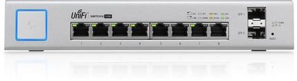 Ubiquiti UniFi Switch US 8 150W 802.3af/at Managed PoE+ Gigabit Switch with SFP UBNT Unifi Switch