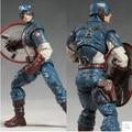 Горячая 18 см игрушки марвел мстители супер герой капитан америка пвх фигурку коллекционная модель игрушки классические игрушки для детей