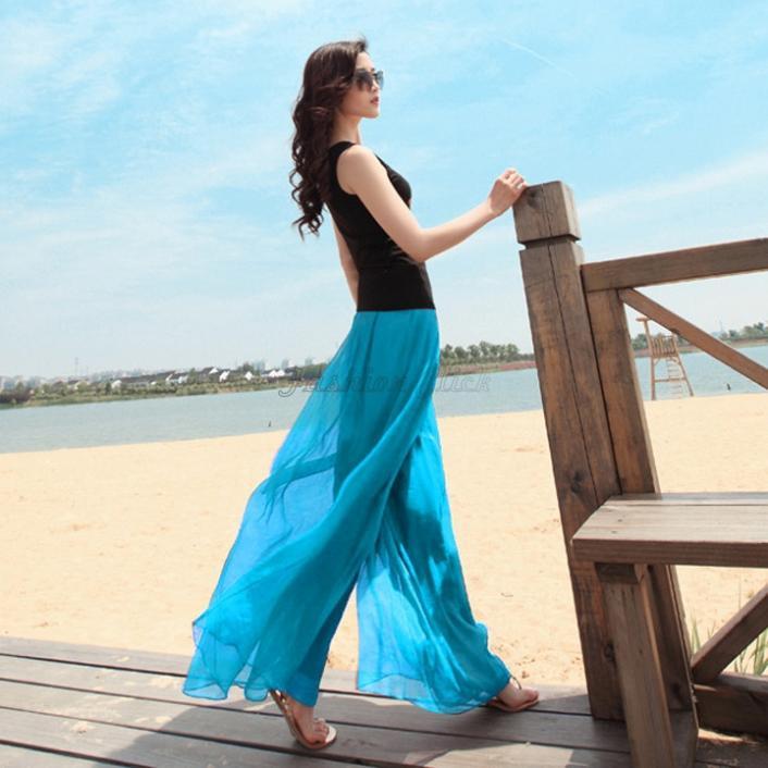 Aliexpress.com : Buy 2015 Spring Hot Bohemian Beach Trousers Loose ...