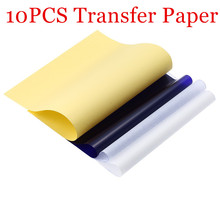 Stencil Tattoo Transfer Paper 10 Sheets A4 Size Tattoo Thermal Stencil Carbon Copier Paper For Tattoo Transfer Machine
