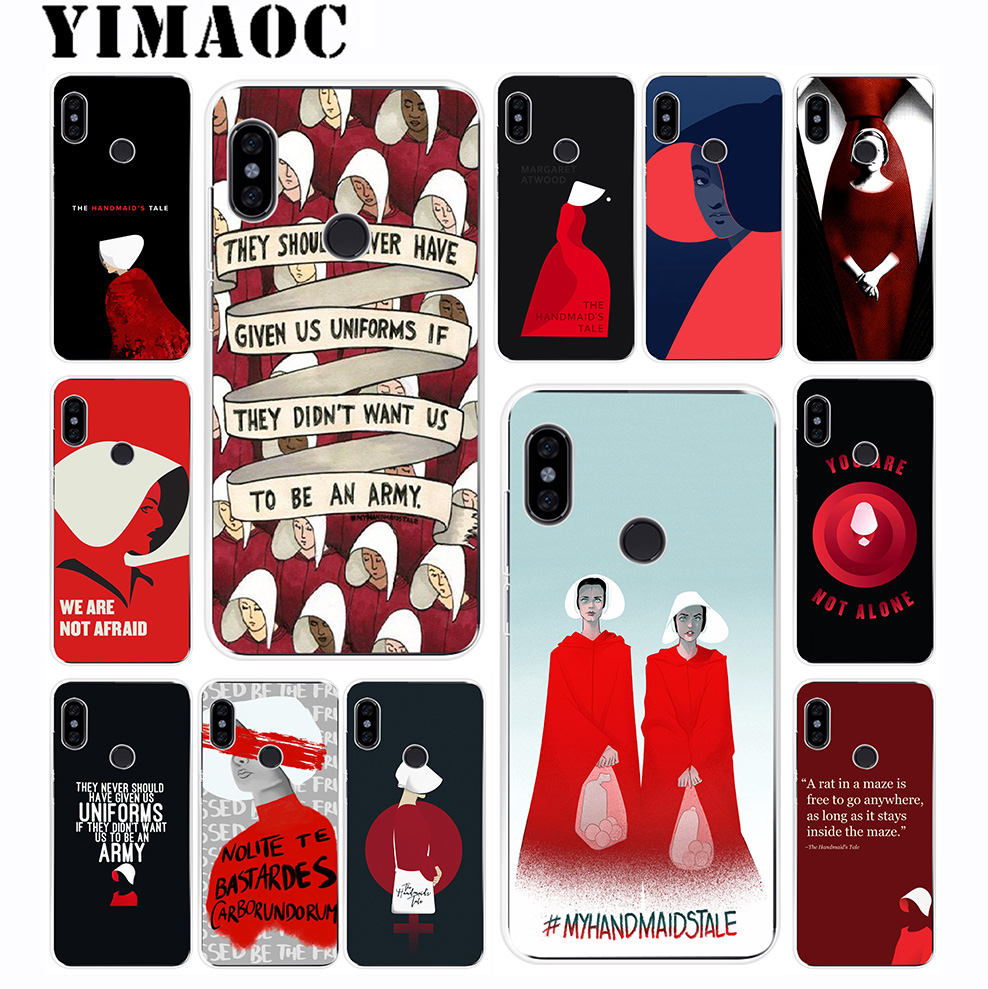 YIMAOC Handmaid Is Tale Soft Silicone Case For Xiaomi Redmi 6 6A 5A 5 S2 Puls Note 8 7 6 5 4X 4 4A Pro For Redmi Go