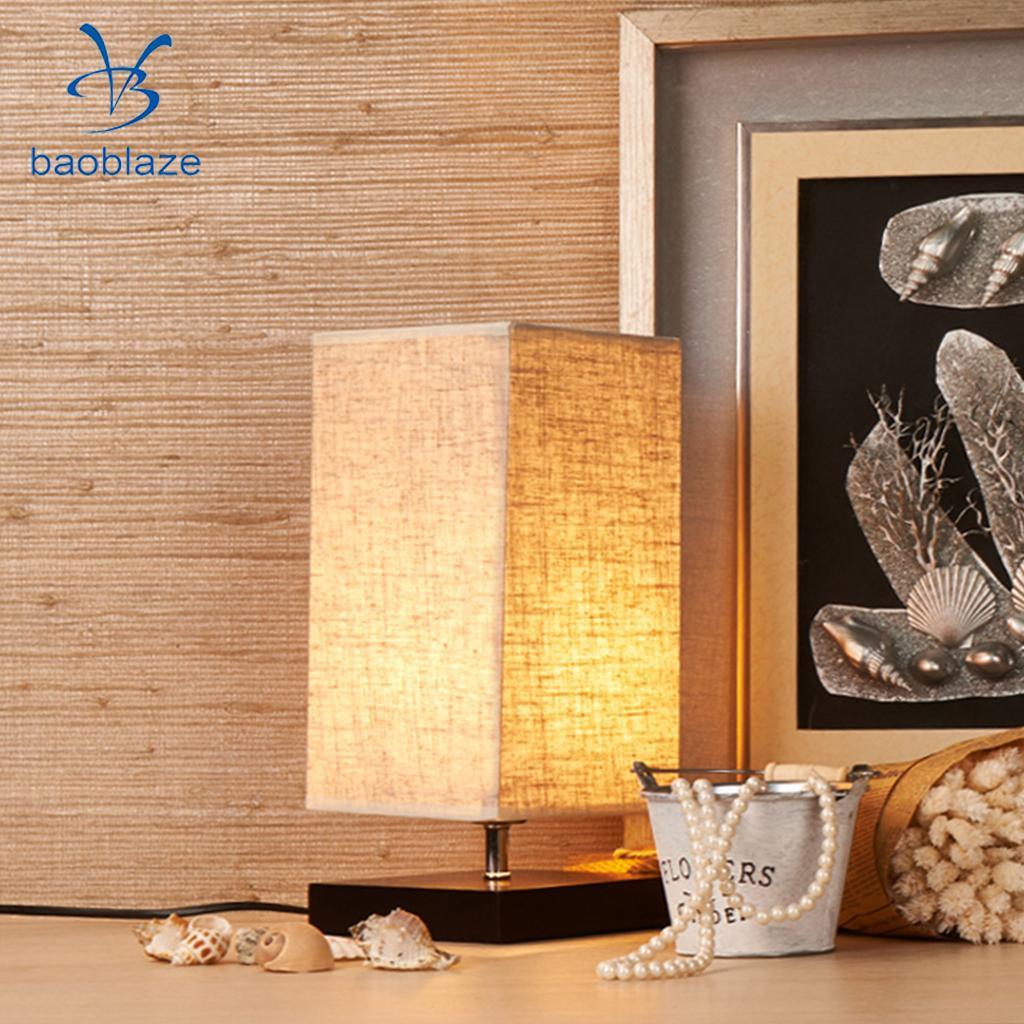 the Nordic Minimalist Style Bedside Table Lamp E27 Base Study Desk Lamp EU|Night Lights| |  - title=