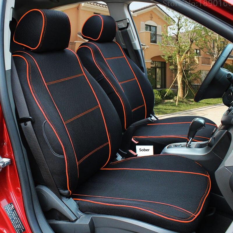 Special breathable car seat cover for benz a b c d e s series vito viano sprinter maybach cla clk aut