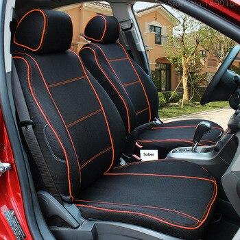 Special Breathable Car Seat Cover For Benz A B C D E S series Vito Viano Sprinter Maybach CLA CLK auto accessories stickers 3 28