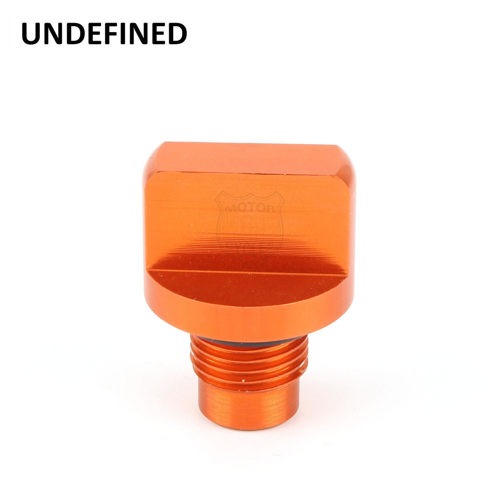 For KTM DUKE 125 200 390 2013 2014 2015 2016 2017 Motorcycle CNC Aluminum Engine Oil Drain Plug Bolts Cap Screw UNDEFINED image