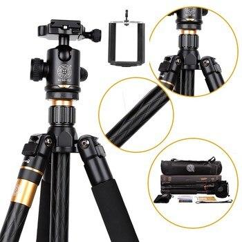 Trípode Original QZSD Q999 para cámara de teléfono al aire libre sesión fotográfica Profesional Trepied Appareil foto trípode para movil