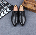 Только настоящая любовь Новая мода мужчины oxfords башмаки острым носом лакированной кожи ретро босоножки, бизнес туфли плюс размер: 37-44