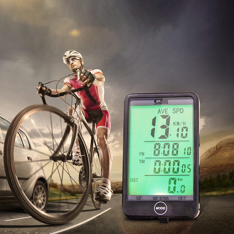 Waterproof Durable Multifunction Wired Cycling Bike