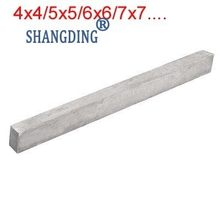 1 pc High Speed CNC Draaibank Snijgereedschap Bits Bar HSS 4x4/5x5/6x6/7x7/8x8/9x9/10x10/11x11/12x12/13x13/14x14/.../26x26 200mm Lengte(China)