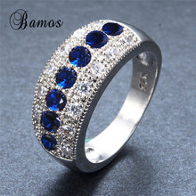 Bamos Exquisite September Birthstone 925 Sterling Silver Fil