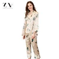 Silk Pajamas sexy pajamas sets Lace three piece pyjamas suit sling pajamas nightgown Sleep bottoms sleepwear women gecelik