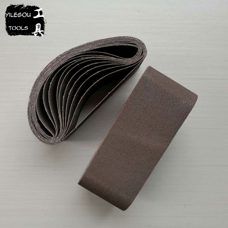 5 Pieces 100*610mm Sanding Belt For Woodworking 610*100mm Sanding Band With Grit 80