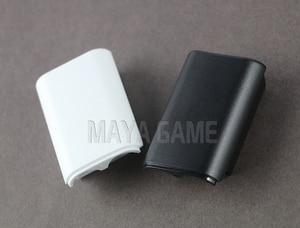 Image 4 - OCGAME 300 pièces/lot noir blanc AA batterie coque couverture arrière support pièces pour xbox360 Xbox 360 contrôleur sans fil