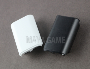 Image 4 - OCGAME 300pcs/lot Black White AA Battery Shell back Cover Holder Case Parts for xbox360 Xbox 360 Wireless Controller