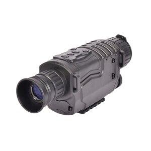 Image 3 - 5X40 الرقمية ناظور أحادي العين للرؤية الليلية الأشعة تحت الحمراء للرؤية الليلية نطاق الصيد مع 8G TF بطاقة شحن مجاني