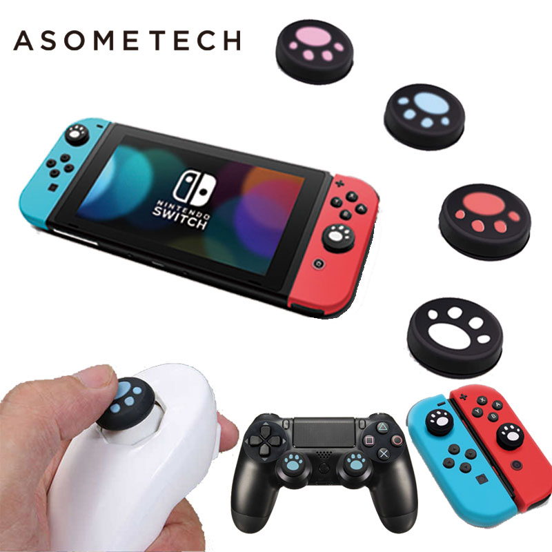 ThumbStick Silicone Button Grip Cap Case For Nintend Switch SONY PS4 Controller XBOXONE Wii Gamepad Joystick Console Accessories