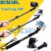 Yunteng 188 Selfie Stick Monopod Extendable Handheld Telescopic Pole For Xiaomi Yi GoPro Hero 2 3