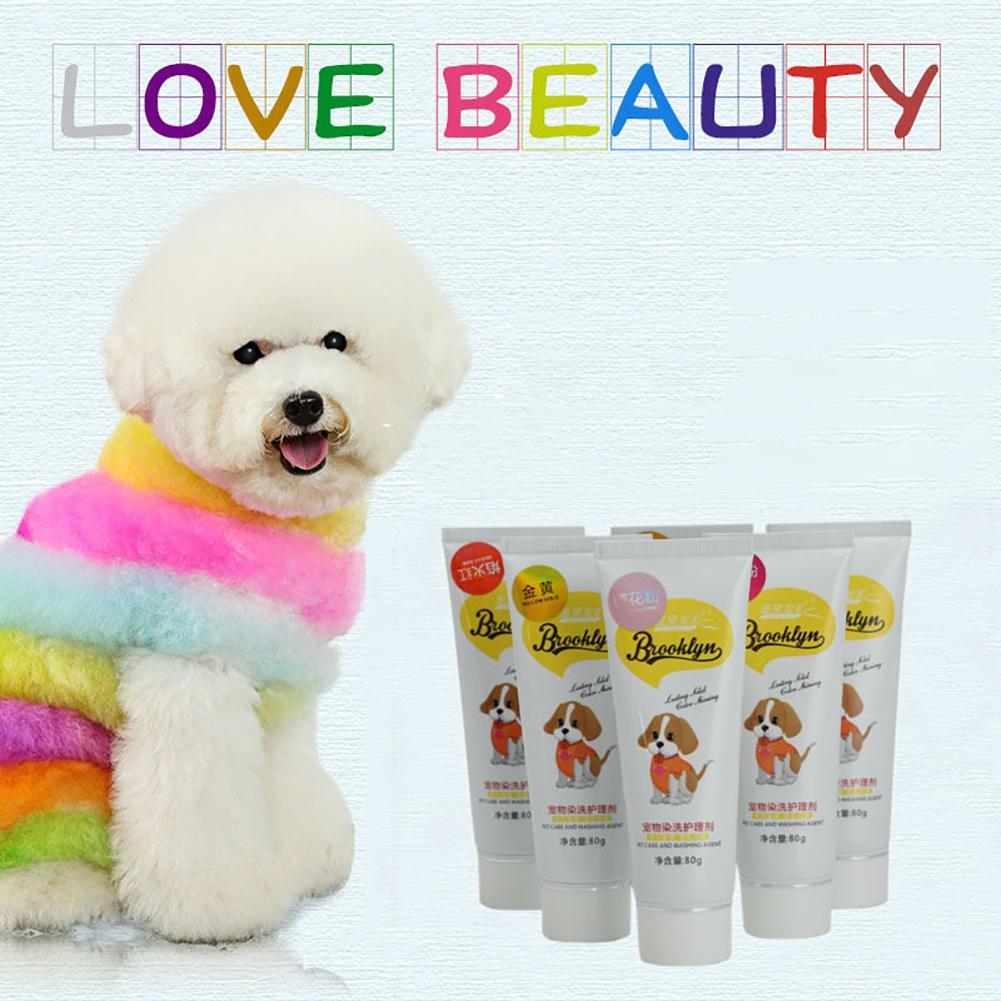 NEW Performance Hair Dye Gel for Dogs professional pet hair cream ...