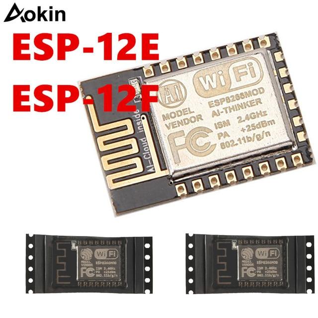 ESP8266 ESP-12E ESP12E ESP12F ESP-12F puerto serie remoto WIFI módulo inalámbrico 3,3 V SPI para Arduino nueva versión