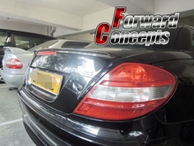 CARBON FIBER MERCEDES BENZ 2005-2011 R171 SLK-SERIES REAR WING TRUNK SPOILER
