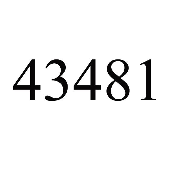 43481 #32/22/13