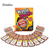 Elsadou Watch Ya Mouth Family Edition The Authentic Hilarious Mouthguard Party Card Game