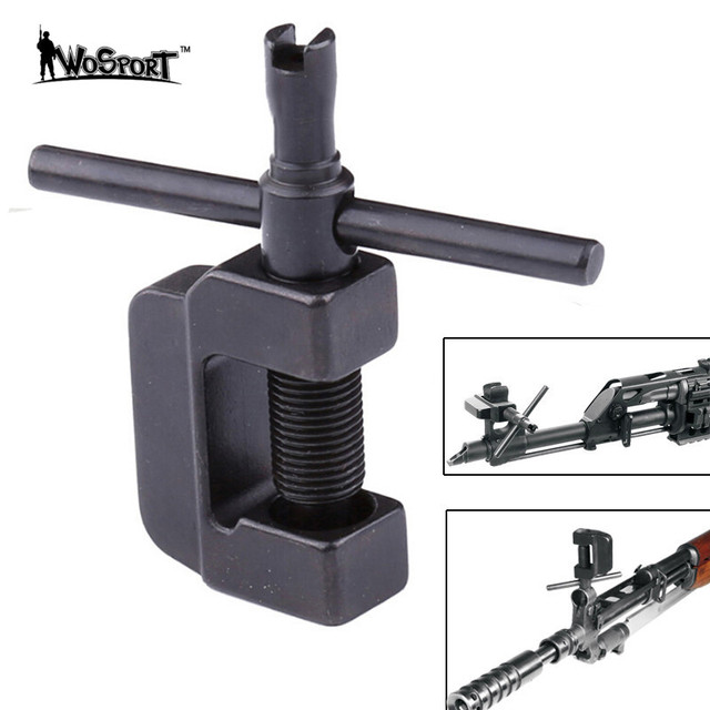 tactical sks ak rifle front sight adjustment tool machined steel