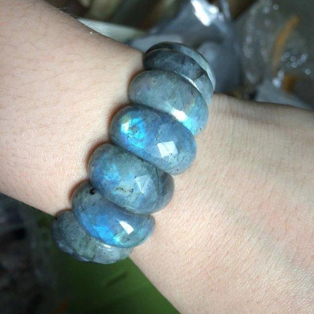 Bracelet Labradorite Femme