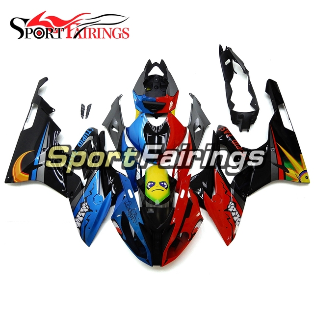 Red Blue Fairings For Bmw S1000rr 2015 2016 15 16 Injection Abs