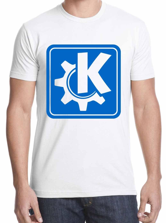 T-Shirt funny KDE logo GNU Linux open source T-Shirt T-Shirt shipping S -2XL